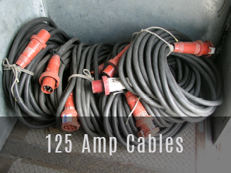 125 Amp cables